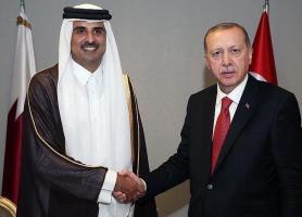 رایزنی تلفنی اردوغان و امیر قطر درباره تحولات منطقه