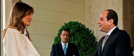 ملانیا ترامپ وارد مصر شد