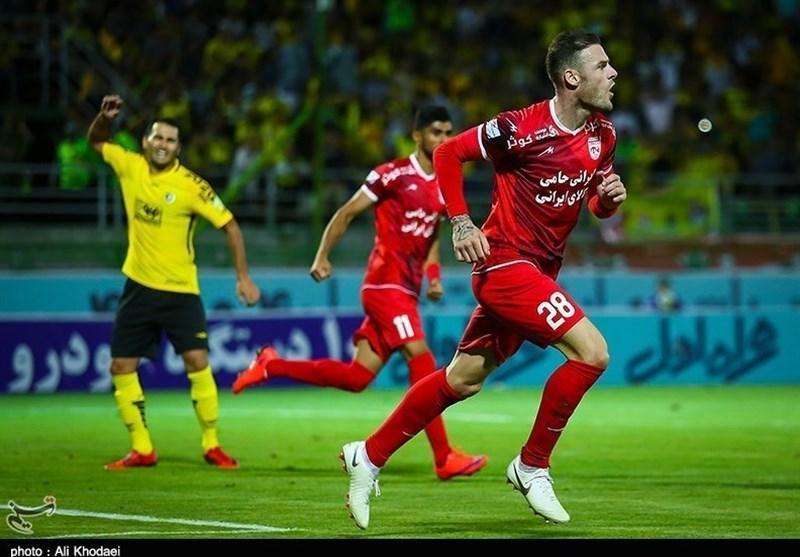 لیگ برتر فوتبال، پیروزی تراکتورسازی و سپیدرود و تساوی یک دیدار در نیمه نخست