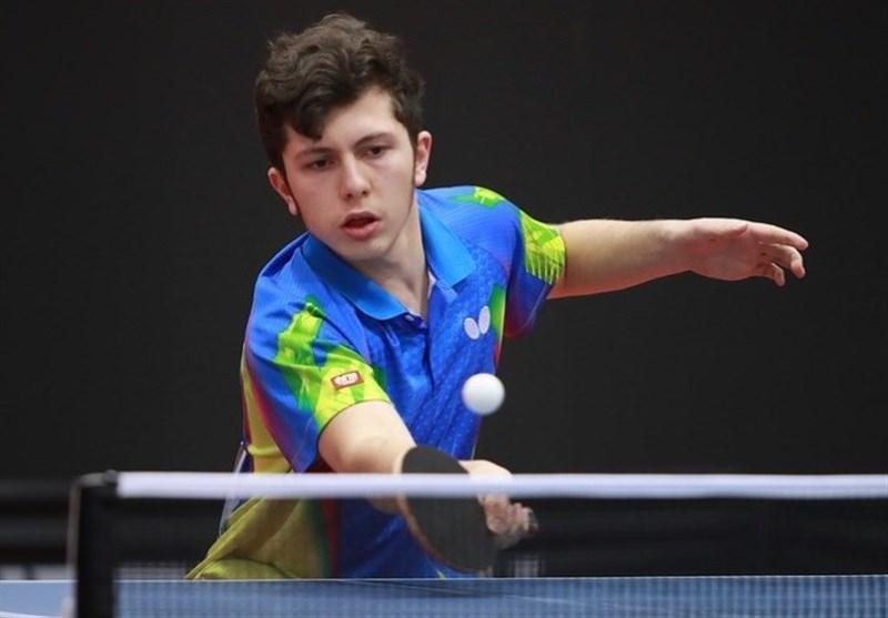 تنیس روی میز تیمی جوانان دنیا، پیروزی ایران مقابل نیوزیلند در گام نخست