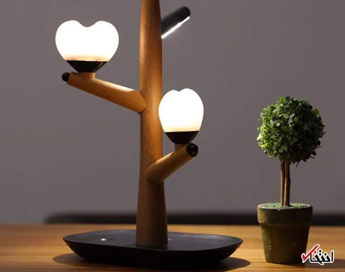 با زیباترین چراغ خواب هوشمند سال آشنا شوید ، دارای نور LED ، برخوردار از سنسورهای هوشمند