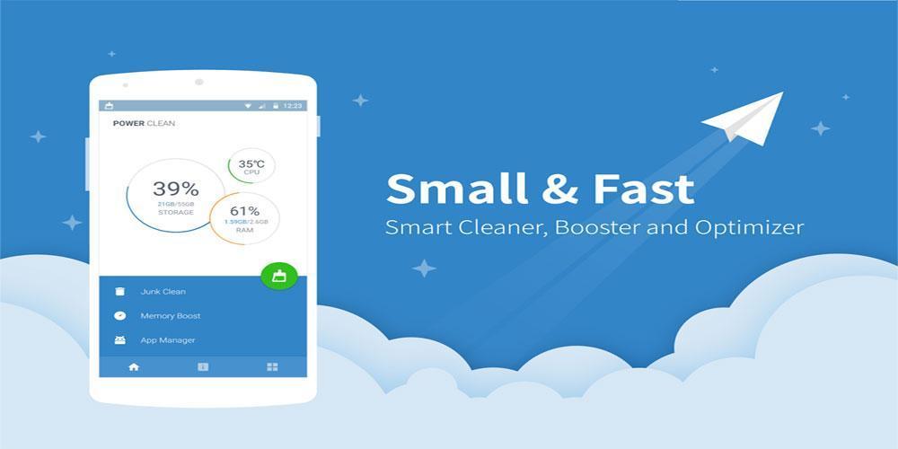 دانلود Power Clean - Optimize Cleaner v2.9.9.61 - برنامه افزایش سرعت و کارایی اندروید