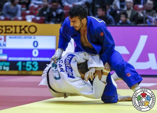 حذف بریمانلو از جودو پاریس با شکست مقابل قهرمان المپیک