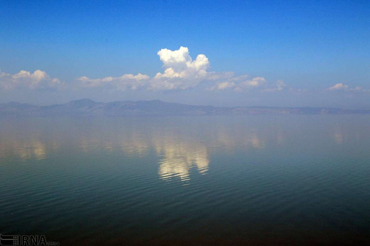 حجم آب دریاچه ارومیه بیش از 4 میلیارد مترمکعب افزایش یافت