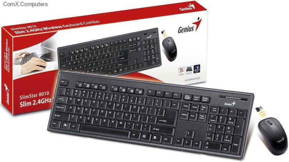 ماوس و کیبورد جنیوس Genius Mouse & Keyboard SlimStar 8010