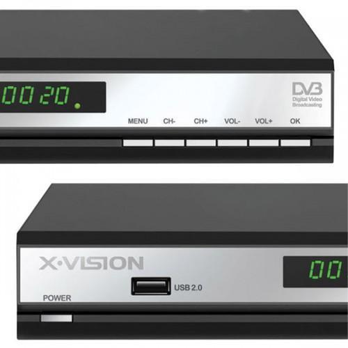 گیرنده دیجیتال ایکس ویژن X.Vision Set Top Box XDVB-363