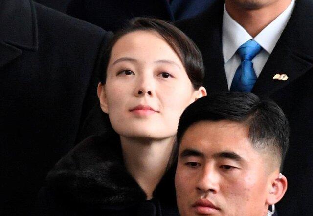 خواهر کیم قدرتمندترین زن در کره شمالی