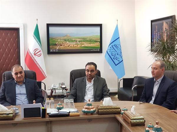 مراسم معارفه مشاور رئیس سازمان میراث فرهنگی در امور ایثارگران برگزار شد