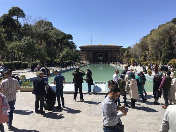 افزایش ساعات فعالیت بناهای تاریخی استان اصفهان همزمان با استقبال گردشگران نوروزی