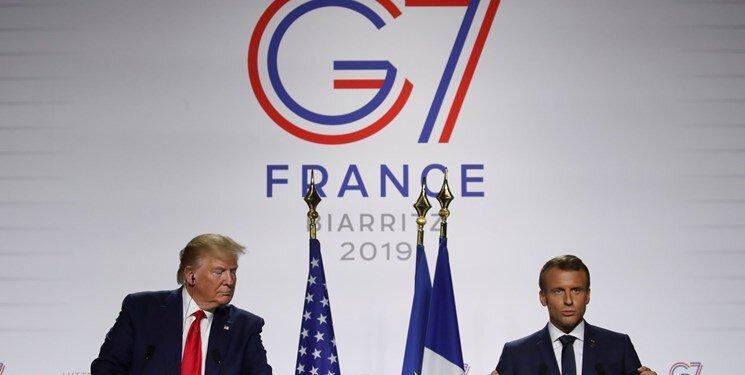 مکرون: برای دیدار ترامپ و روحانی کوشش می کنیم، ترامپ: ایران موشک بالستیک نداشته باشد