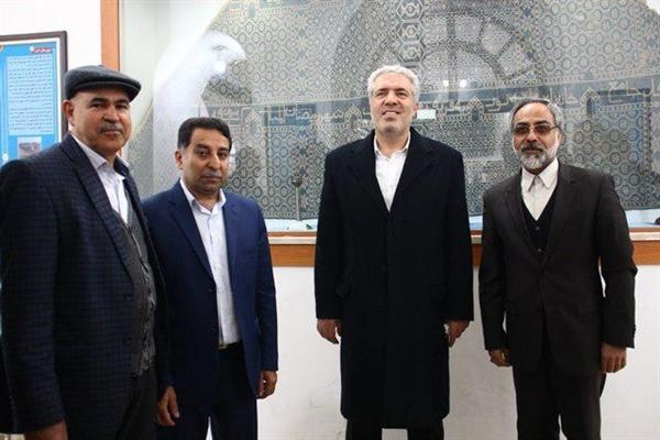 بازدید رئیس سازمان میراث فرهنگی از مجموعه تاریخی امام (ره) تفت