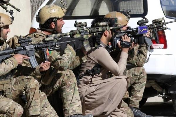 ارتش افغانستان انبار بزرگ مهمات طالبان را منهدم کرد