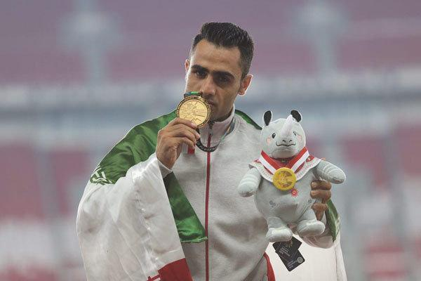 حسین کیهانی به مدال طلا دست پیدا کرد، هفدهمین طلا برای ورزش ایران