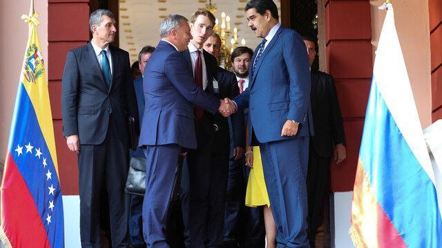 توافق ده ساله بین روسیه و ونزوئلا