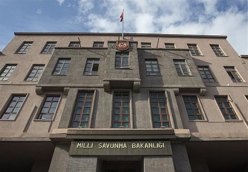 بیانیه وزارت دفاع ترکیه درباره حمله زمینی به سوریه