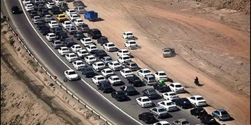 گزارش وضعیت ترافیکی مرزها ، تردد در چذابه، خسروی و شلمچه پرحجم اما روان
