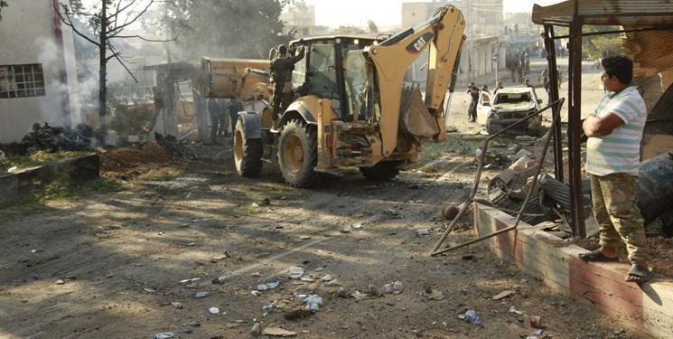 وقوع انفجار در شهر مرزی تل ابیض سوریه