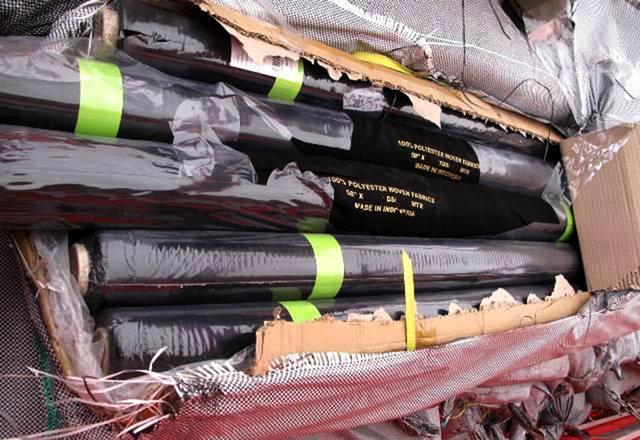 کشف پارچه های سه میلیاردی قاچاق در مرکز لرستان