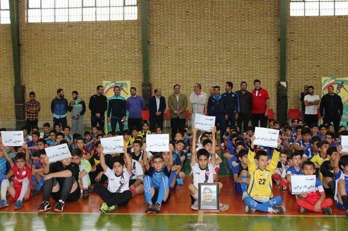 استعدادیابی فوتبال محله های پایتخت با طرح ورزشی جام شهدا