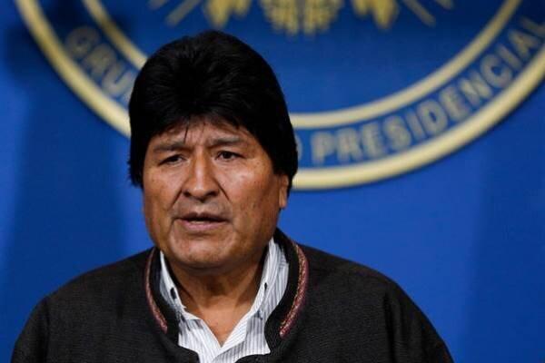 رئیس جمهور مستعفی بولیوی راهی مکزیک شد