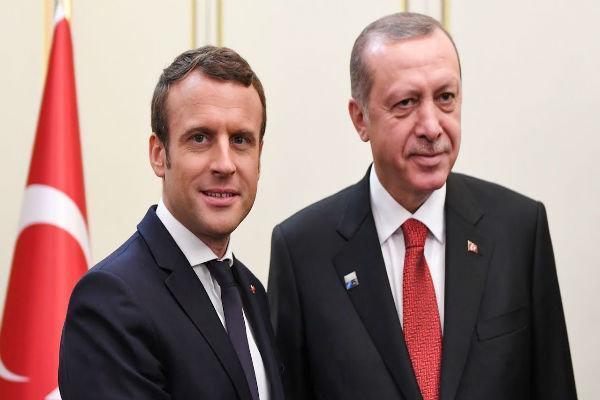 اردوغان: ماکرون مرگ مغزی خودش را چک کند!