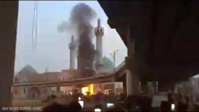 آتش زدن آرامگاه محمدباقر حکیم در نجف ، اعلام عزای عمومی در 9 استان عراق