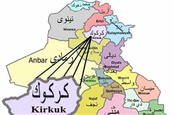 بازداشت اعضای باند تخریب و ترور در کرکوک عراق