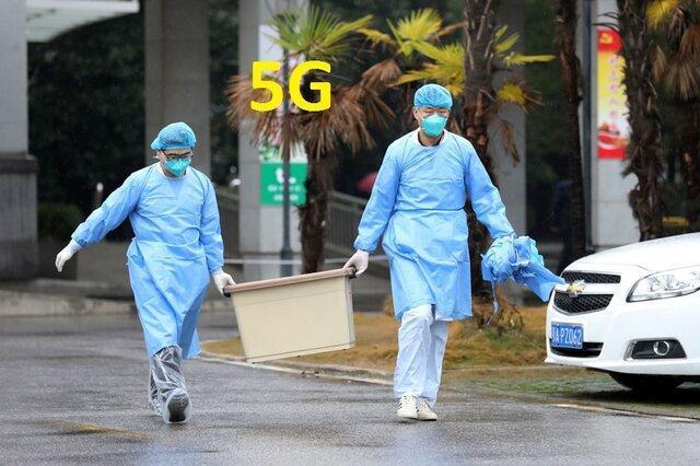 شبکه 5G به یاری مبتلان به ویروس کرونا می آید