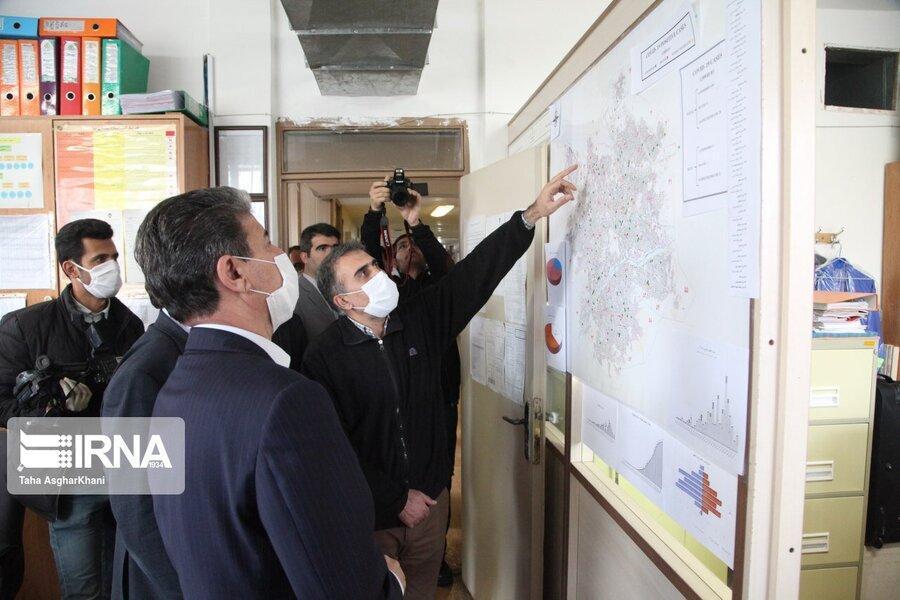 ارومیه در صدر جدول ابتلا به کرونای آذربایجان غربی