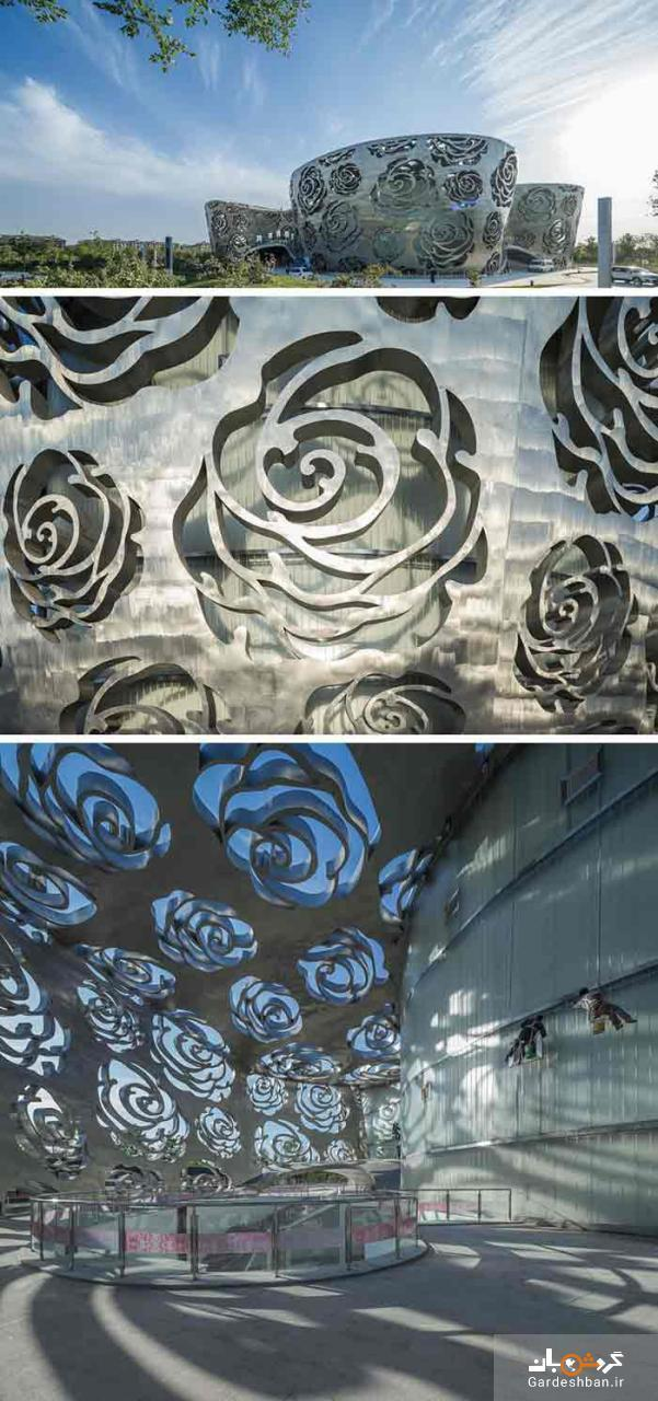 تلفیق مدرنیته هنر و تاریخ را در اولین موزه گل رز دنیا ببینید