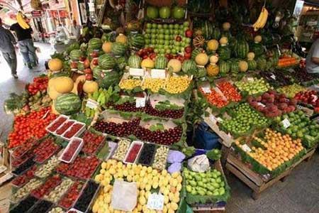 جدیدترین قیمت میوه های نوبرانه