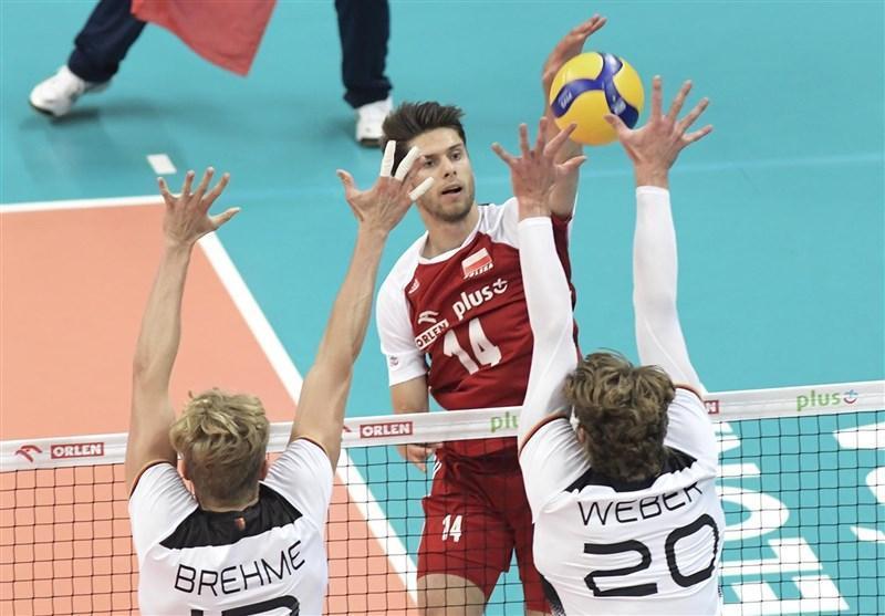 ملاقات محبت آمیز والیبال، آلمان مغلوب لهستان شد
