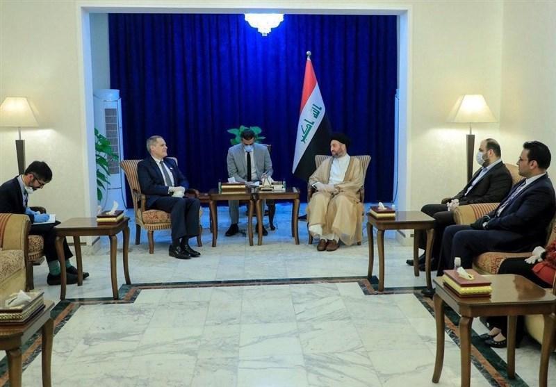 حکیم: آمریکا باید به حاکمیت عراق احترام بگزارد