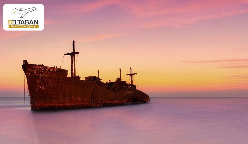 وداع تلخ کشتی یونانی با جزیره کیش