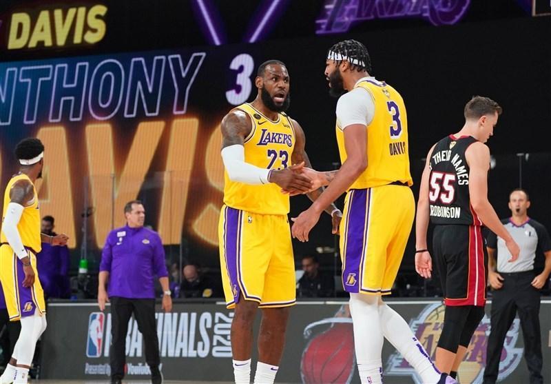 فینال لیگ NBA، لیکرز با قدرت آغاز کرد، درخشش دیویس در نخستین فینال