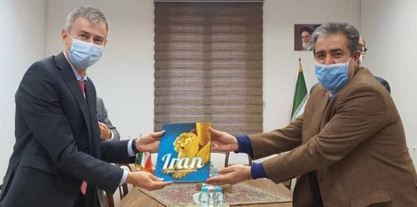 ملاقات سفیر سوئیس با رئیس کل موزه ملی ایران