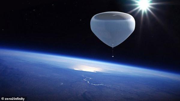 سفر به فضا بوسیله بالون
