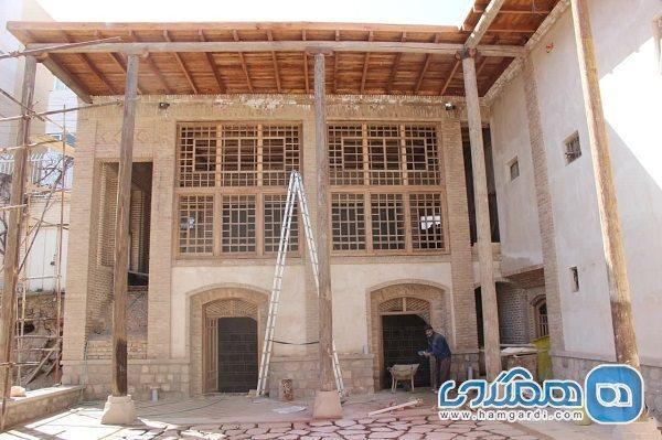 بازسازی کاروانسرای تاریخی مقصودیه تبریز در مراحل پایانی است