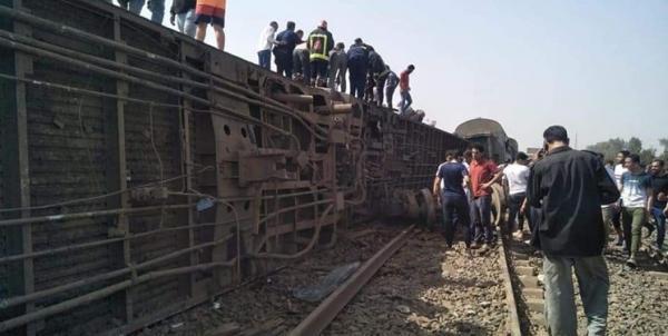 8 کشته و بیش از 100 زخمی در واژگونی قطار در مصر