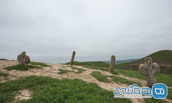 قبرستان خالد نبی گنبد کاووس؛ نفرین شده یا تاریخی؟