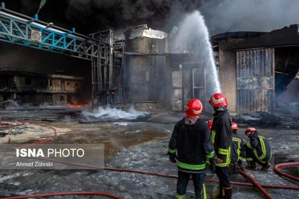 انفجار کپسول اکسیژن در اصفهان