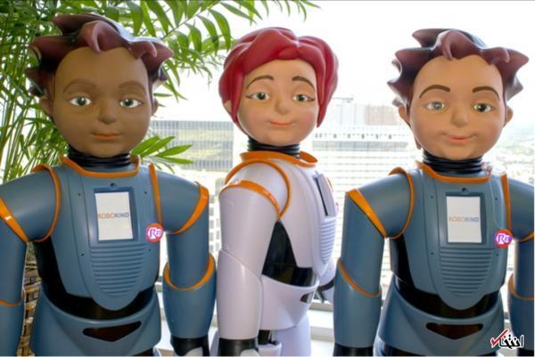 ربات میلو به بچه ها مبتلا به اوتیسم یاری می نماید