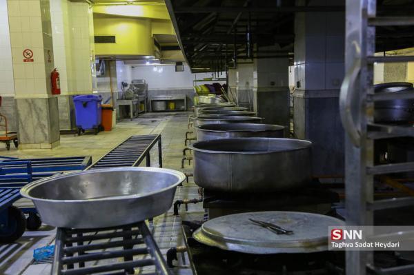 آشپزخانه صنعتی دانشگاه علوم پزشکی هرمزگان شروع به کار کرد