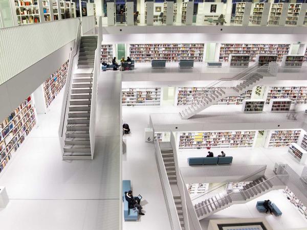 کتابخانه هایی که عشق کتاب ها باید ببینند