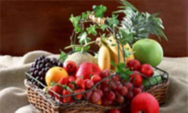 تاثیر رنگ در خواص میوه ها!