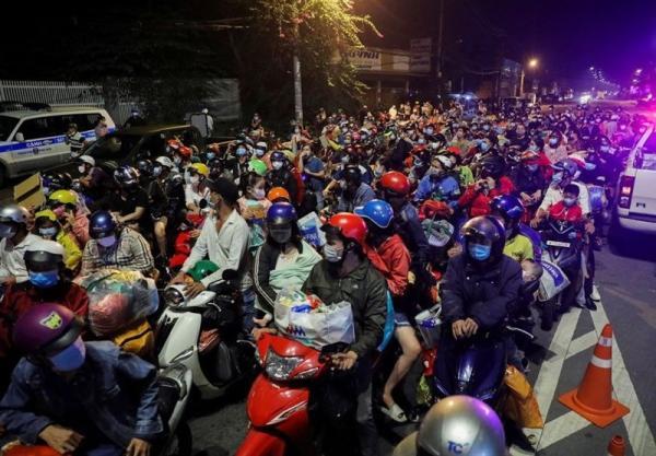 تور ویتنام ارزان: فرار کارگران از بزرگترین شهر ویتنام: ما خسته شده ایم