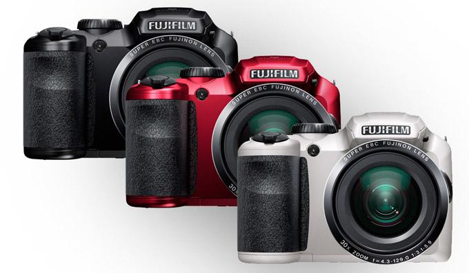 معرفی دوربین های S4800 و FINEpIX S6800 فوجی فیلم