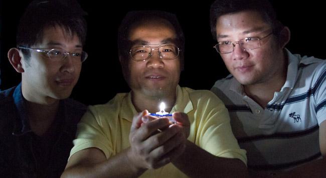بهبود کیفیت نور لامپ LED با گرم شدن نور LED