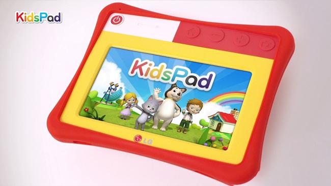 ارائه تبلتی برای کودکان توسط LG با نام KidsPad