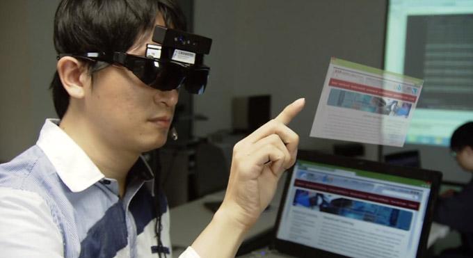با فناوری لمسی i-Air در هوا کلیک کنید